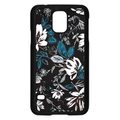 Floral Pattern Samsung Galaxy S5 Case (black)