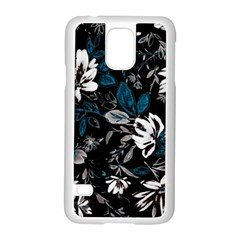 Floral Pattern Samsung Galaxy S5 Case (white)
