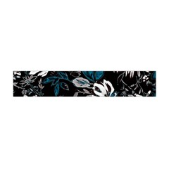 Floral Pattern Flano Scarf (mini)