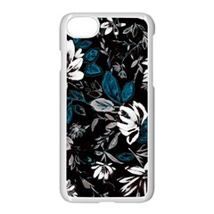 Floral Pattern Apple Iphone 8 Seamless Case (white)