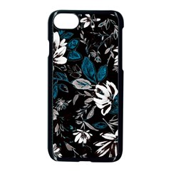 Floral Pattern Apple Iphone 8 Seamless Case (black)