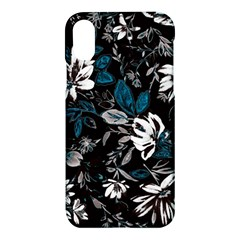 Floral Pattern Apple Iphone X Hardshell Case