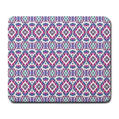 Colorful Folk Pattern Large Mousepads