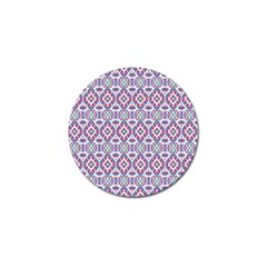 Colorful Folk Pattern Golf Ball Marker (4 Pack) by dflcprints
