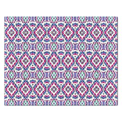 Colorful Folk Pattern Rectangular Jigsaw Puzzl