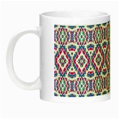 Colorful Folk Pattern Night Luminous Mugs