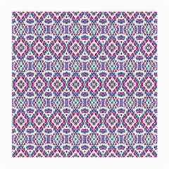 Colorful Folk Pattern Medium Glasses Cloth by dflcprints