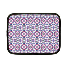 Colorful Folk Pattern Netbook Case (small)  by dflcprints