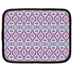 Colorful Folk Pattern Netbook Case (large)