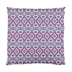 Colorful Folk Pattern Standard Cushion Case (two Sides)