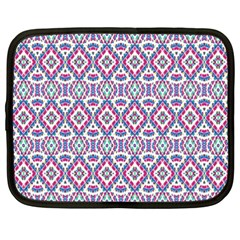 Colorful Folk Pattern Netbook Case (xxl)
