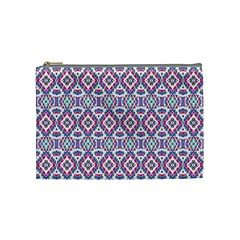 Colorful Folk Pattern Cosmetic Bag (medium)