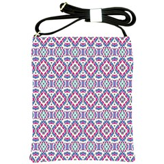 Colorful Folk Pattern Shoulder Sling Bags