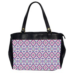 Colorful Folk Pattern Office Handbags (2 Sides)