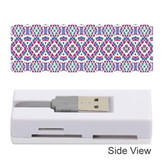 Colorful Folk Pattern Memory Card Reader (stick)  by dflcprints