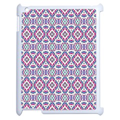 Colorful Folk Pattern Apple Ipad 2 Case (white)