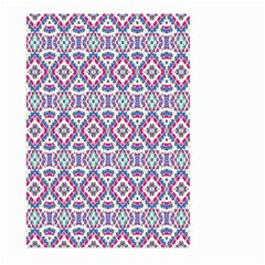Colorful Folk Pattern Large Garden Flag (two Sides)