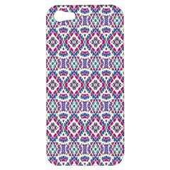 Colorful Folk Pattern Apple Iphone 5 Hardshell Case