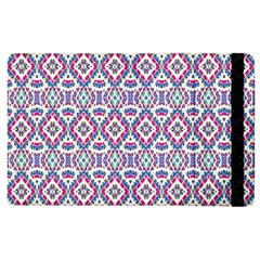 Colorful Folk Pattern Apple Ipad 2 Flip Case