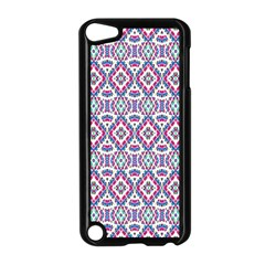 Colorful Folk Pattern Apple Ipod Touch 5 Case (black)
