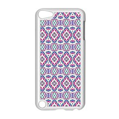 Colorful Folk Pattern Apple Ipod Touch 5 Case (white)