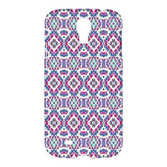 Colorful Folk Pattern Samsung Galaxy S4 I9500/i9505 Hardshell Case