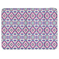 Colorful Folk Pattern Samsung Galaxy Tab 7  P1000 Flip Case