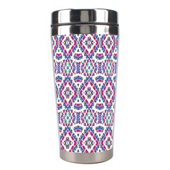 Colorful Folk Pattern Stainless Steel Travel Tumblers