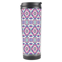 Colorful Folk Pattern Travel Tumbler