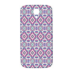 Colorful Folk Pattern Samsung Galaxy S4 I9500/i9505  Hardshell Back Case