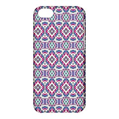 Colorful Folk Pattern Apple Iphone 5c Hardshell Case