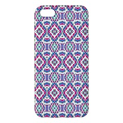 Colorful Folk Pattern Iphone 5s/ Se Premium Hardshell Case