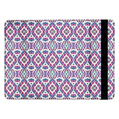 Colorful Folk Pattern Samsung Galaxy Tab Pro 12 2  Flip Case