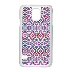Colorful Folk Pattern Samsung Galaxy S5 Case (white)