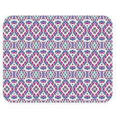 Colorful Folk Pattern Double Sided Flano Blanket (medium)