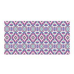 Colorful Folk Pattern Satin Wrap
