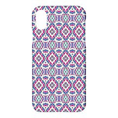 Colorful Folk Pattern Apple Iphone X Hardshell Case