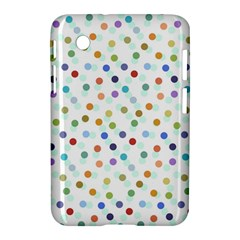 Dotted Pattern Background Brown Samsung Galaxy Tab 2 (7 ) P3100 Hardshell Case