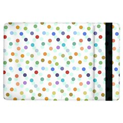 Dotted Pattern Background Brown Ipad Air Flip by Modern2018