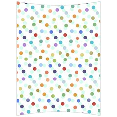 Dotted Pattern Background Brown Back Support Cushion