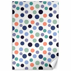 Dotted Pattern Background Blue Canvas 20  X 30