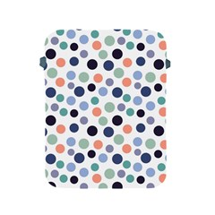 Dotted Pattern Background Blue Apple Ipad 2/3/4 Protective Soft Cases