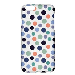 Dotted Pattern Background Blue Apple Iphone 6 Plus/6s Plus Hardshell Case