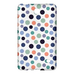 Dotted Pattern Background Blue Samsung Galaxy Tab 4 (7 ) Hardshell Case