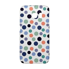 Dotted Pattern Background Blue Galaxy S6 Edge