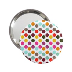 Dotted Pattern Background 2 25  Handbag Mirrors