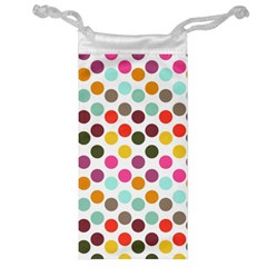 Dotted Pattern Background Jewelry Bag