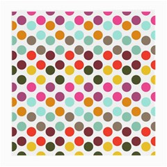 Dotted Pattern Background Medium Glasses Cloth