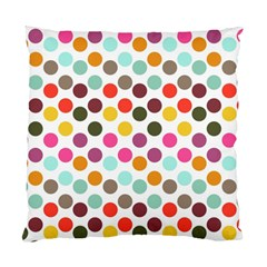 Dotted Pattern Background Standard Cushion Case (two Sides)