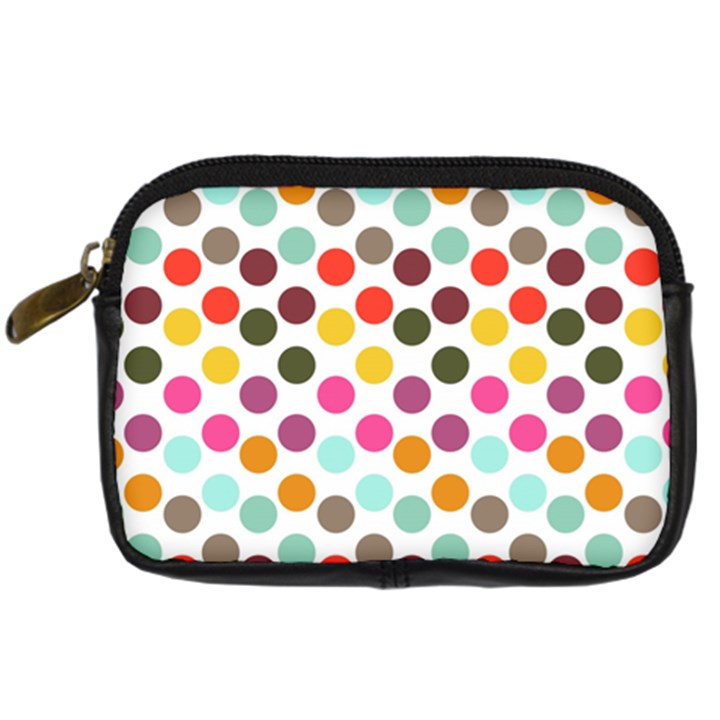 Dotted Pattern Background Digital Camera Cases
